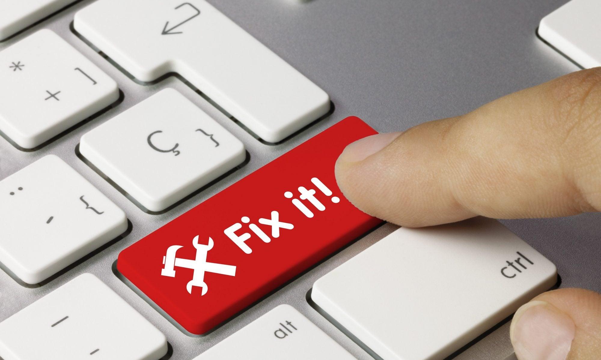Fix your computer